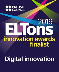 British Council ELTon Awards finalist logo