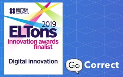 Go Correct shortlisted for a British Council award for digital innovation