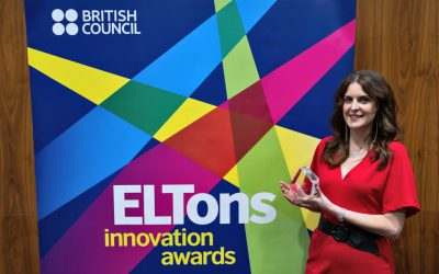 Go Correct wins a British Council ELTons award for digital innovation